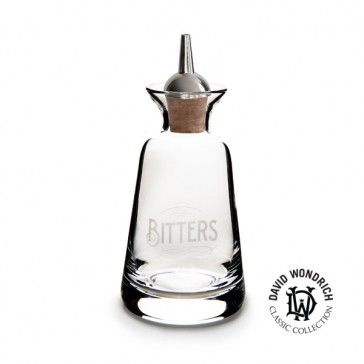 Finewell™ Bitters Bottles Engravers Style